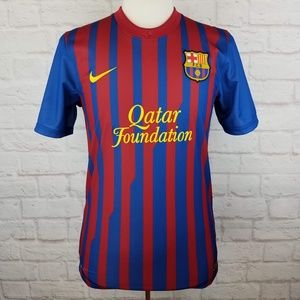 Nike Authentic FC Barcelona Dri-fit Soccer Jersey